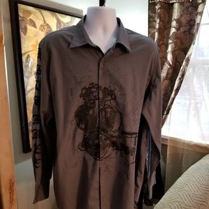 INC Ops Long Sleeves Dress Shirt